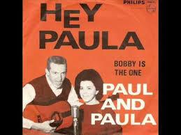 呆けとんのかな? 歌詞が違うようななあ~  Hey, hey Paula, no one else will ever