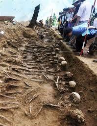 ほらほらハシシタさん始まってしまいました 51年後の真実   韓国保導連盟事件   発掘された現場の一つ