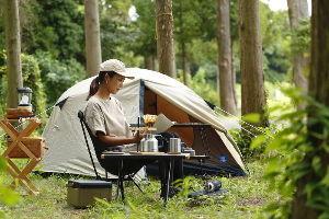 8411 - (株)みずほフィナンシャルグループ 焼肉どころか・・・ BBQどころか・・・ 女子ではソロキャンプが流行っているのよ^^