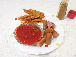 変かもしれないけど美味しい料理 Curry wurst [ カレーブルスト ]    何年か前に、ドイツ人が投稿した写真を見ていたら