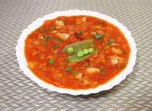 変かもしれないけど美味しい料理 [ トマト・クラムチャウダー(マンハッタン・クラムチャウダー) ]  トマト味のクラムチャウダーを作