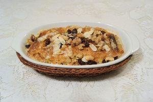 変かもしれないけど美味しい料理 OM ALI (EGYPTIAN BREAD PUDDING) [ エジプト風パンプディング ]