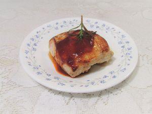 変かもしれないけど美味しい料理 [ 鶏胸肉のソテー ]  TVで落合務シェフが紹介していた鶏胸肉のフライパン焼きを参考にして作りまし