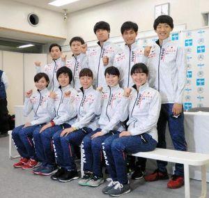 フィギュアスケートにはLGBT の選手がたくさんいます。 ショートトラック日本代表の選手たち。