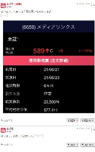 6659 - (株)メディアリンクス YOSHI破綻 /(^o^)\