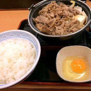 いろんな出会いがあってもいいですよね!  > 松本でご飯ですか?  全然、豪華じゃなくて〜(笑) 吉牛が食べたくて(笑) 牛すき鍋膳!