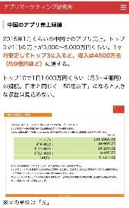 3932 - (株)アカツキ 中国市場の概要  偽物のAndroid端末を含めると、中国のスマホユーザーは5億人を超えている。(現