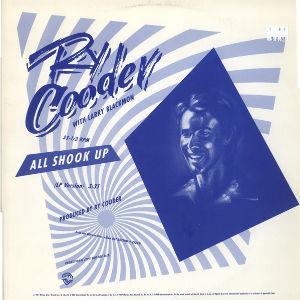 My Fav Five Ry Cooder - All Shook Up (1988LIVE)  『Get Rhythm』1