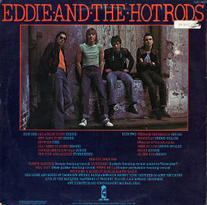 My Fav Five Eddie & The Hot Rods - On The Run   『Teenage D