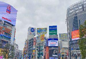 テイラーラボ たけしなど  Game iさんのRTより  これ、渋谷のスクランブル交差点の上に、渋谷ディビジョンが