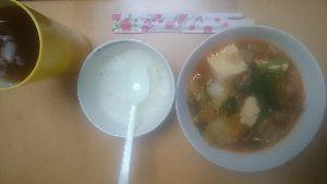 ●むか~し アハハ  キムチ鍋、辛い、辛い  仕方なく、炊飯、1合  ロの中が、辛い、辛い  おロ治し、炊飯、で