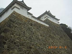車中泊での旅のノウハウ 姫路城(姫路市)248 平成27年3月3日(火) 1993年日本で初の世界文化遺産及び国宝「姫路城」