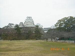 車中泊での旅のノウハウ 姫路城その2