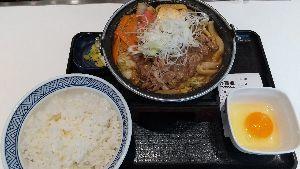 9861 - (株)吉野家ホールディングス 本日遂に黒毛和牛すき鍋膳を食べてきました。 美味しかった。これで税込み1097円は安いね。
