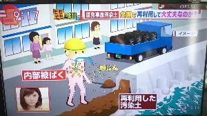 1883 - 前田道路(株) 放射能に汚染された土を道路舗装に使うなんて危険すぎる。  地域住民や舗装工事の作業者、および家族の健