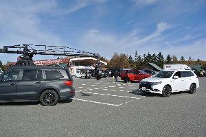 耶馬渓MC倶楽部(やばけいMCくらぶ) 信州・東北ツーリング余談その5 ビーナスラインを走っているとガードマンに止められた。何?車のCMを撮