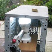 LED電球の保護機能を確認する実験
