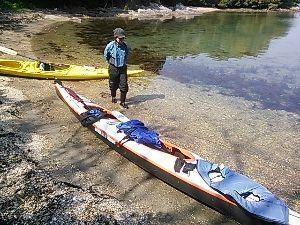 漕ごう!九州の海と川 スバルタンジェミニをお借りしました( ^o^)ノ  途中で琴海の会長と遭遇してランチを同席して、また