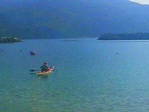 漕ごう!九州の海と川 前方にサワラのナブラが!(笑)