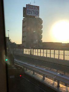 9769 - (株)学究社 杉並区大原あたりの中央道下りで、「ena」の看板が気になります -。