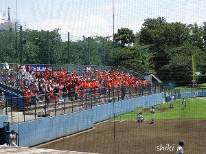 写真、楽しんでいますか~Part2 朝息子からメールで野球の応援に行くというので、立川球場で落ち 合って一緒に応援してきました。幸い試合