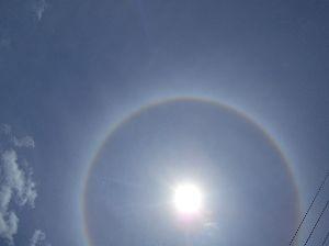 おとなやけど~~~^^w ふぁーさんトオルさん 今晩はらくちゃんデス、  6月12日11:33 西脇市あたりで 「丸い虹」を