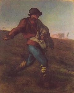 ウデスパーと聖書を学ぼう Jean-François Millet - The Sower, 1850