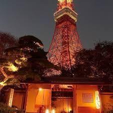 7621 - (株)うかい その2 夜景 『とうふ屋うかい』&東京タワー