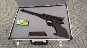 APS競技(エアーガン) 銃を入れるために 細工してみました 銃用でない入物を加工。。  売ってなきゃ 作るしかないもんね~w