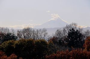 ノルディック・ウォーキング その富士山だ