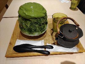 3387 - (株)クリエイト・レストランツ・ホールディングス この前新京極店でかき氷が無かったので今日は神戸店でかき氷。 でも、気温的にはこの前食べたかったな。