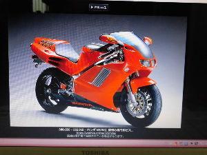 RC42型のCB750 気になるバイクRC40 ホンダのNR750,写真は逆輸入車です、国産も有るらしいです。 なにせ、普通