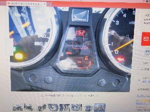RC42型のCB750 CB1100EXとcb1300ボルドーのメーターは同じタイプで、速度計の表示が違います。2014年式