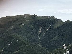 埼玉発!初心者トレッキング cirさん  金峰山もガッツと時間が有れば行ったのですが登った事もあったので遠くから見て下山しちゃい
