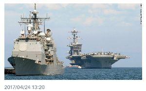4901 - 富士フイルムホールディングス(株) 雰囲気が怪しくなって⁇  North Korea threatened to sink an Ame