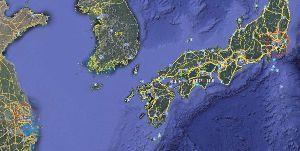 (*^^)ゆっくり、のんびり、マイペース♪ あっ,,絵を忘れてる,, 彡~~健忘症~~彡 それぞれ80km圏の赤い丸印
