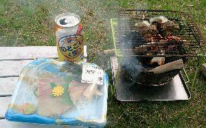 ポンコツ日記! サザエが食べたくなって?山陰の田万川温泉キャンプ場で一人宴会してきました。
