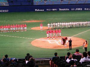 社会人野球東海地区あれこれ 第30回JRグループ硬式野球大会  【最終日  第2日】  ・準決勝 第1試合 九州 5ー1 東海