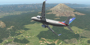 9202 - ANAホールディングス(株) 只今、樹海上空を低空飛行しております。