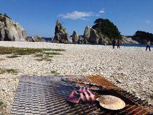 何気ない一日の出来事 青い空と白い雲  風が気持ちイイ!  秋刀魚祭りで食べたよ