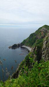 1日の終わりにちょっとだけ…… こんばんは❗海の日でしたが皆さん楽しい連休でしたか❗ 私は家族と北海道、室蘭の地球岬に行ってきました