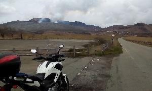 山口よりトコトコ走り隊 阿蘇・九重町まで2泊3日のキャンツーしてきました。 大荷物積載でもリッター30キロでした!ヾ( 〃&