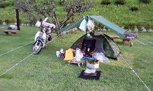 山口よりトコトコ走り隊 8/19~20で近場(アジト?)でキャンプしてきました、今年は暑いのと歳のせい?で控えてましたが~(