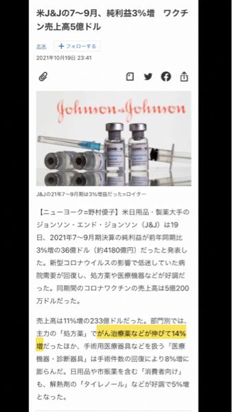 2370 - (株)メディネット J &Jの7-9月決算でポイントはここだね。