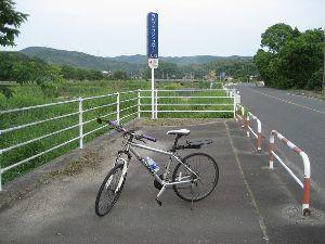 ポタリング専用 今朝(6/6)の走行  距離 26.79㎞  平均 17.7㎞ MAX 27.9㎞  今川サイクリン