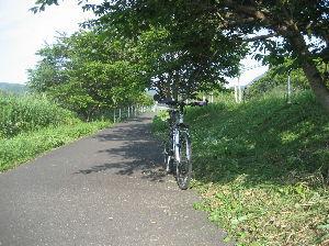 ポタリング専用 今朝の走行  距離 33.28㎞  平均 16.5㎞ MAX 26.4㎞