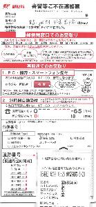 4745 - (株)東京個別指導学院 初取得だけど、 「図書カード1,500円分」は、簡易書留なのか -。