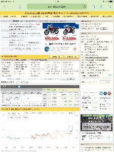 4502 - 武田薬品工業(株) 23時42分のADRです‼️   プラス82円です‼️   Volumが多いので信頼度が高いですね⁉