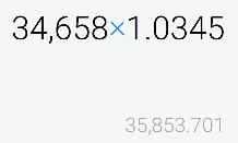 2049 - NEXT NOTES S&P500 VIX インバースETN 今日は、基準価額的には 35800円くらいかな。。。  マーケット価額は、別物だが❤  40000円