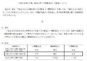 6503 - 三菱電機(株) 中間配当金9円、、、こんなモンかな。。。